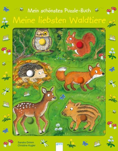 Meine liebsten Waldtiere - mein schönstes Puzzlebuch