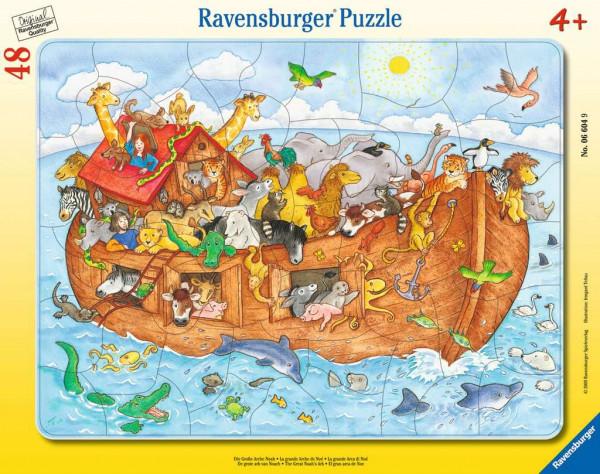 Die große Arche Noah - Rahmenpuzzle