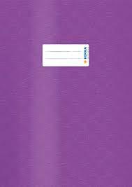 Herma Heftschoner 7446 A4 Folie gedeckt violett