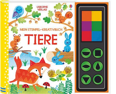 Mein Stempel-Kreativbuch: Tiere