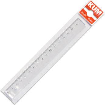 Lineal Kunststoff 15 cm glasklar