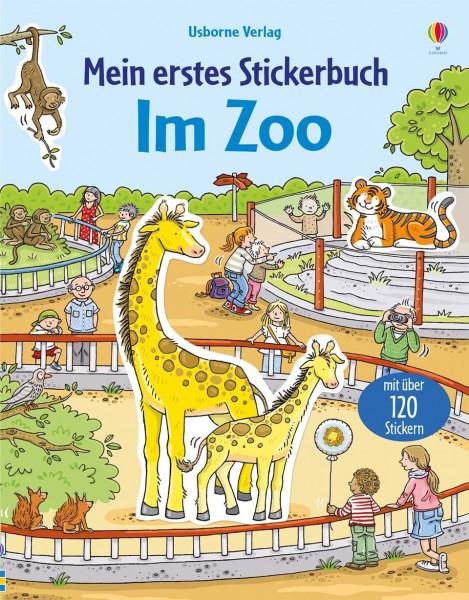 Mein erstes Stickerbuch - Im Zoo