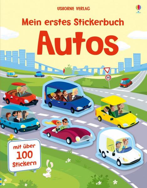 Mein erstes Stickerbuch - Autos