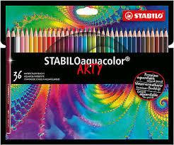 Aquarell Farbstifte STABILOaquacolor