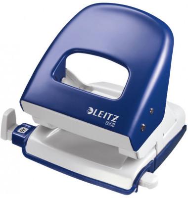 Leitz Locher 5008 blau 3mm 30 Blatt mit Anschlagschiene