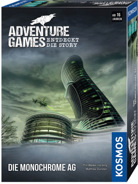 Adventure Games- Die Monochrom AG