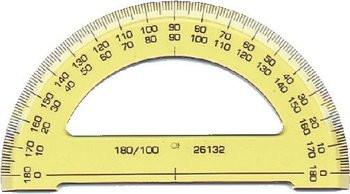 Winkelmesser KOH-I-NOOR 180° (Halb)