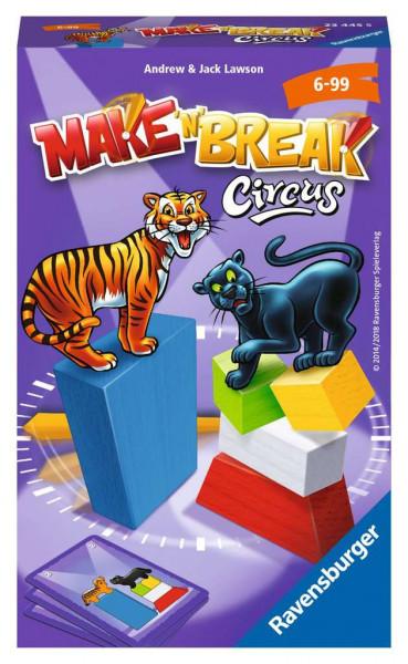 Make 'n' Break Circus. Mitbringspiel