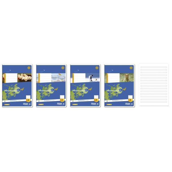 Ursus Schulheft Basic 3.Schuljahr A5 Lineatur 3 liniert weiß 16 Blatt