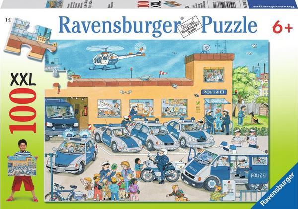 Polizeirevier, Puzzle, XXL 100 Teile