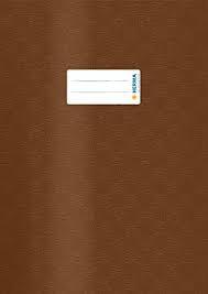 Herma Heftschoner 7447 A4 Folie gedeckt braun