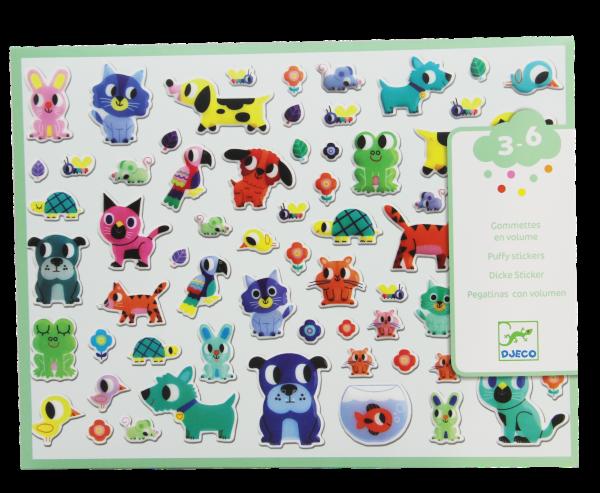 Dicke Sticker - Haustiere