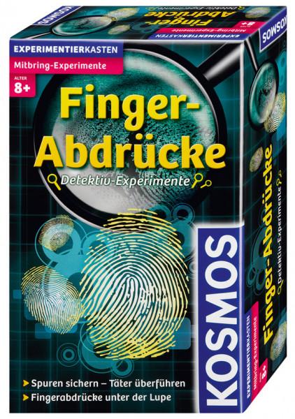 Fingerabdrücke - Detektiv-Experimente. Experimentierkasten