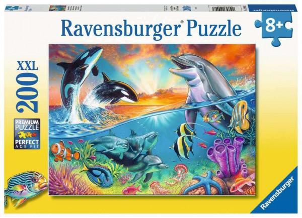Ozeanbewohner, Puzzle XXL 200 Teile
