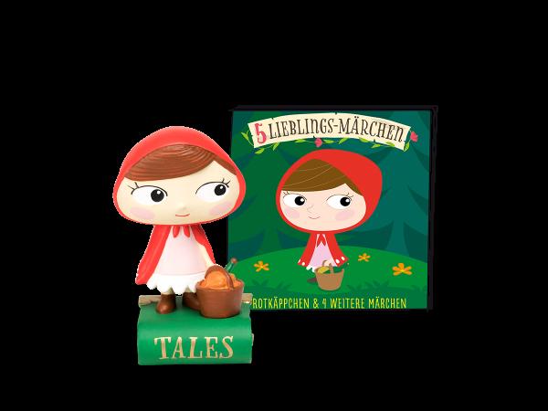 5 Lieblings-Märchen - Rotkäppchen und 4 weitere Märchen