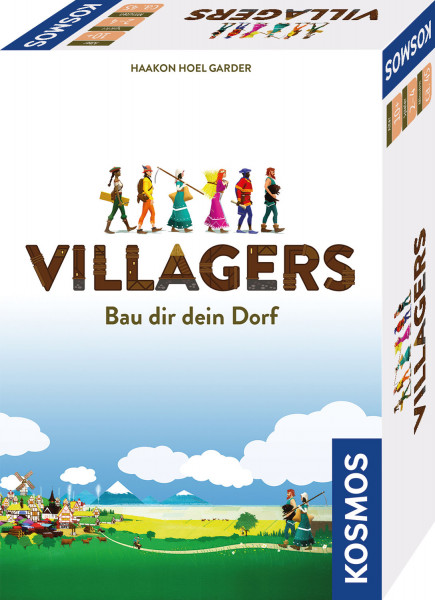 Villagers. Bau dir dein Dorf