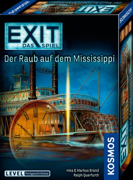 Exit. Das Spiel - Der Raub auf dem Mississippi