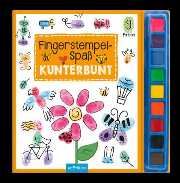 Fingerstempelspaß - Kunterbund