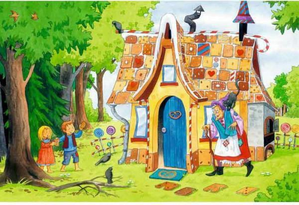 Hänsel und Gretel, Puzzle, 48 Teile