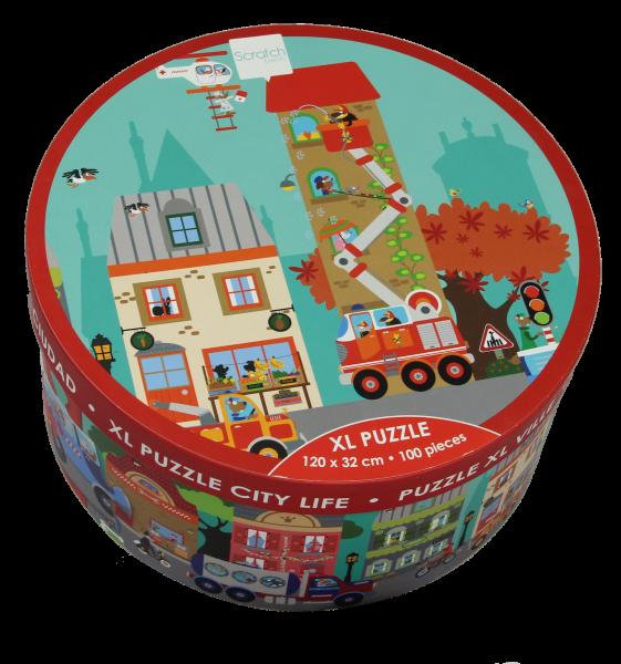 XL Puzzle City Life