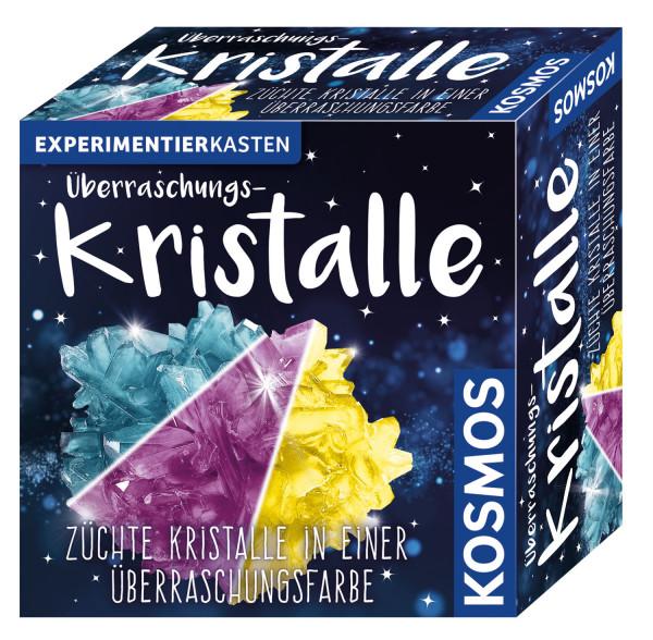 Überraschungs-Kristalle. Experimentierkasten