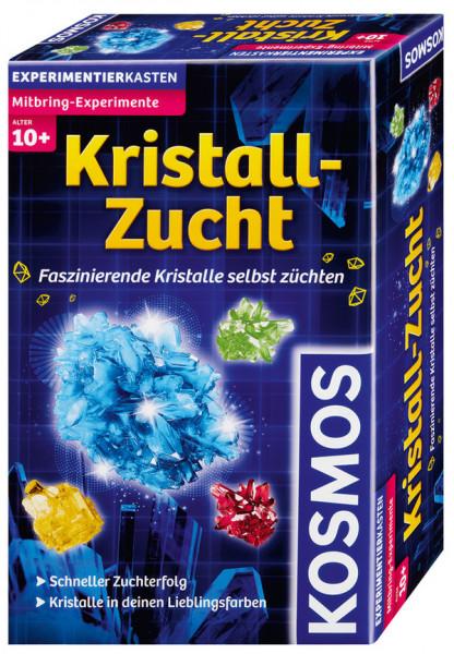 Kristall-Zucht - Faszinierende Kristalle selbst züchten. Experimentierkasten