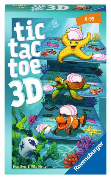 Tic Tac Toe 3D. Mitbringspiel