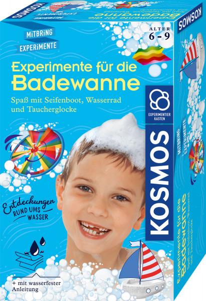 Experimente für die Badewanne. Experimentierkasten