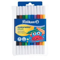Pelikan 973177 - 10 Fasermaler Colorella Duo
