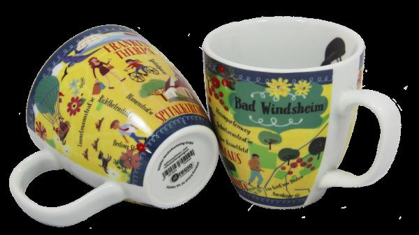 """Souvenir Tasse Lungo """"Bad Windsheim"""""""