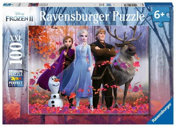 Frozen II - Magie des Waldes, Puzzle XXL 100 Teile