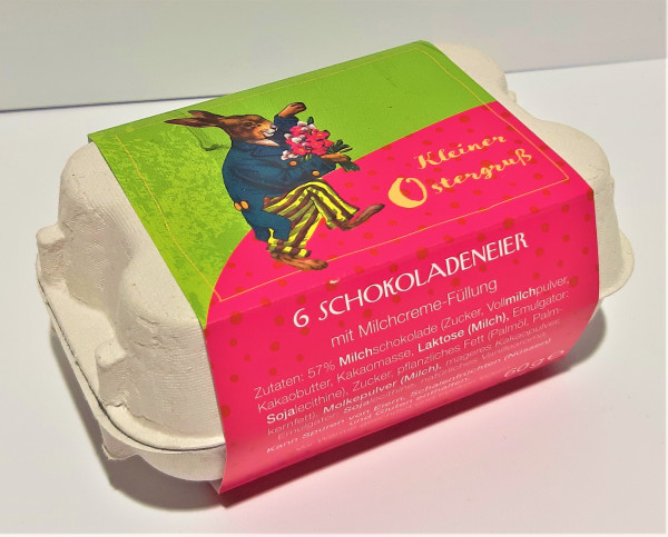 Kleiner Ostergruß - Schokoladeneier