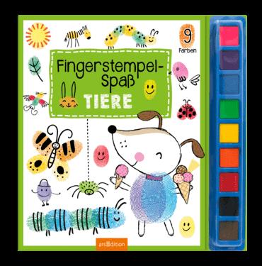 Fingerstempelspaß - Tiere
