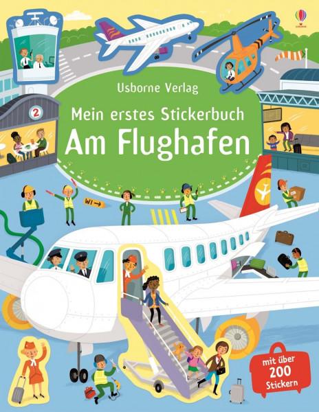 Mein erstes Stickerbuch - Am Flughafen