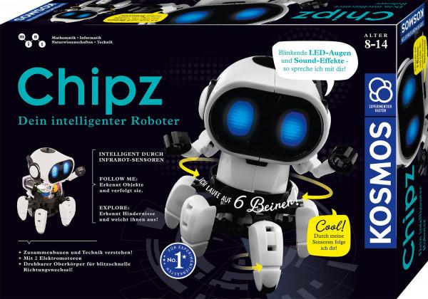 Chipz - Dein intelligenter Roboter. Experimentierkasten