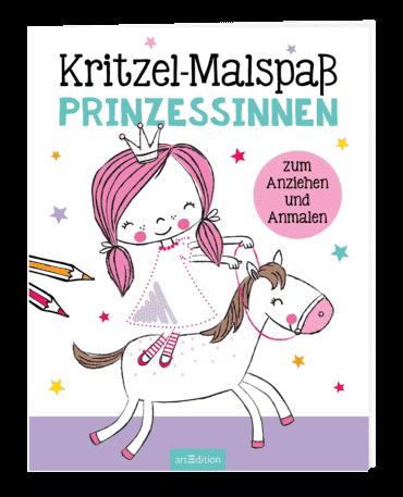 Kritzel-Malspaß Prinzessinnen