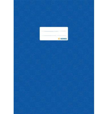 Herma Heftschoner 7443 A4 Folie gedeckt dunkelblau