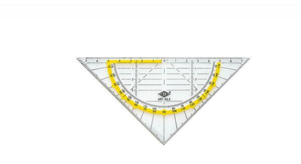 WEDO®Geometrie-Dreieck, Hypotenuse 160 mm