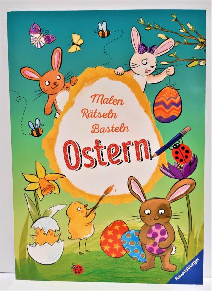 Malen Rätseln Basteln Ostern