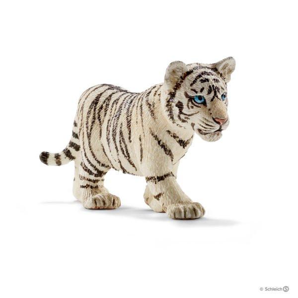 Tigerjunges, weiß