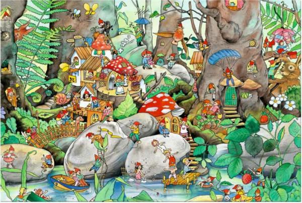 Im Wichtelwald, Puzzle 48 Teile