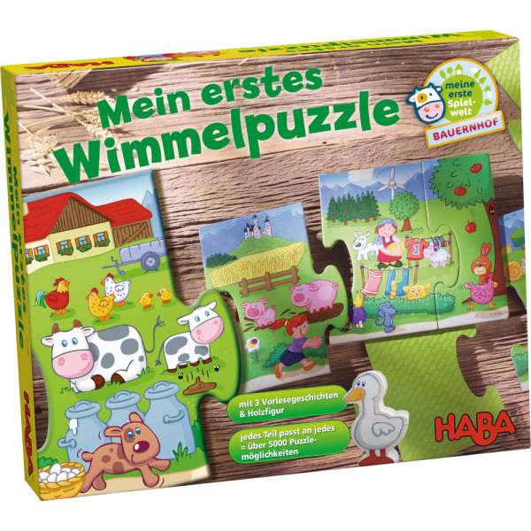Mein erstes Wimmelpuzzle Bauernhof