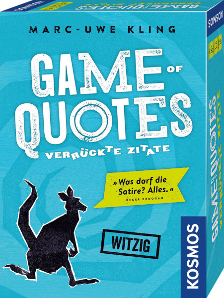 Marc-Uwe Kling: Game of Quotes