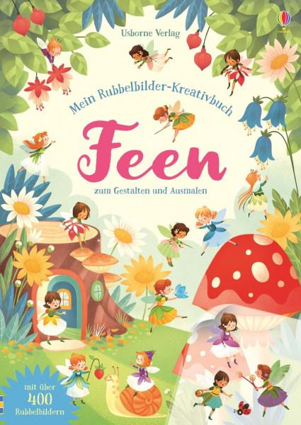 Rubbel-Kreativbuch Feen