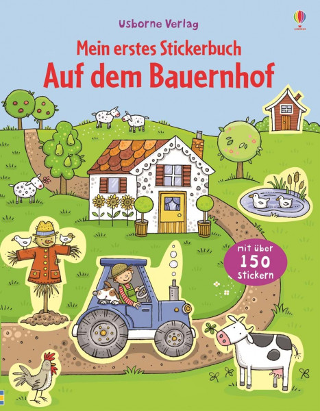Mein erstes Stickerbuch - Auf dem Bauernhof