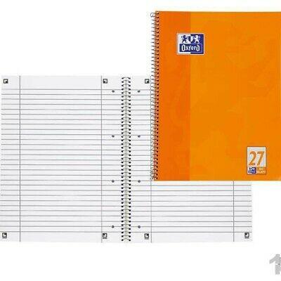 Oxford Collegeblock orange DIN A4+ liniert 80 Blatt Rand links + rechts Art.Nr.: 5401156