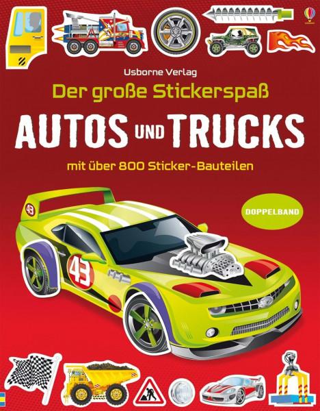 Der große Stickerspaß - Autos und Trucks