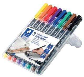 Lumocolor permanent 8er Medium